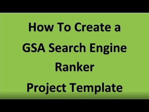 Best GSA Search Engine Ranker Products And Services - No 1