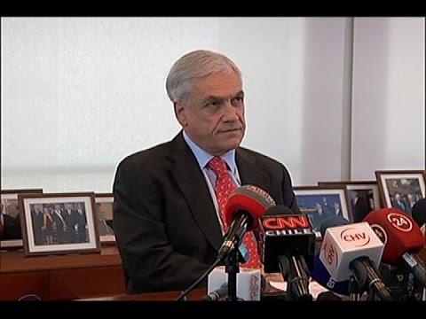 """Sebastián Piñera: """"Condeno toda fórmula de cohecho"""""""