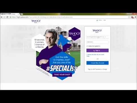 How to delete All Emails in Yahoo mail at once Check New Video In Description 2016 2017