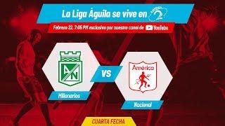 EN VIVO: Atlético Nacional vs América de Cali