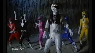 mighty morphin power rangers movie morph correct order