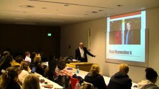 Bruce Silverglade at Goethe University