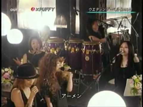 Puffy AmiYumi - Wedding Bells ( Konkatsu! theme song ) Live