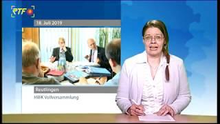 Betriebe ausgelastet - Handwerkskammer Reutlingen lädt zur Sommervollversammlung
