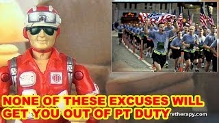 Bad Excuses To Get Out Of Military PT