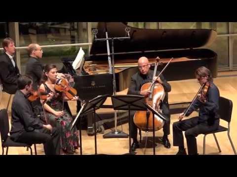 Brahms: Quintet in F minor, Op. 34, Mvt II - ChamberFest Cleveland (2014)