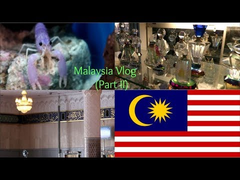 Visiting Malaysia's National Mosque, Aquarium, Mall and Arab street
