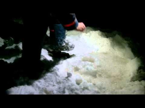 зимняя рыбалка на налима в сибири