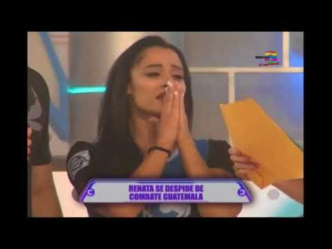 Renata se despide de Combate Guatemala