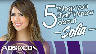 Video 5 things to know about Sofia Andres download MP3, 3GP, MP4, WEBM, AVI, FLV September 2017