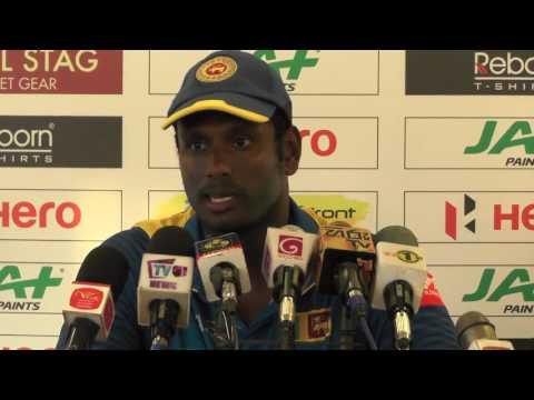 1st ODI - Post Match Press Conference - Sri Lanka v Zimbabwe