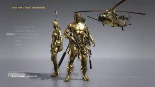 Metal Gear Solid V Phantom Pain I Trajes do Snake e da Quiet