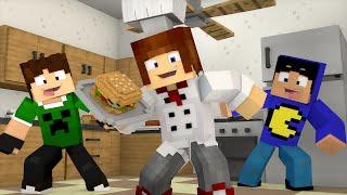 minecraft oque vamos comer hoje casa dos youtubers 05
