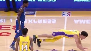 Lonzo Ball Gets PUNKED by Patrick Beverley