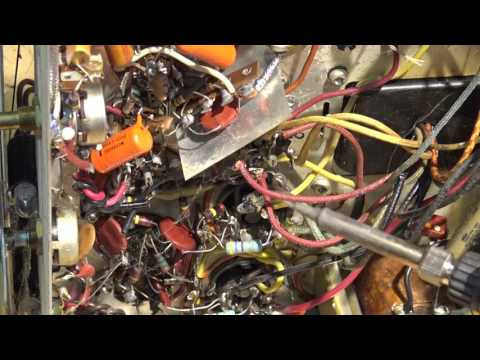 Viking RC 311 Vintage AM radio repair