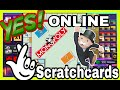 My Big Win on Monopoly Riches Online SCRATCH CARDS !