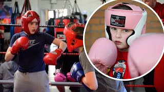 The boxing club trying to fight knife crime in Newport