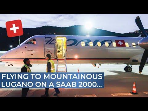 TRIPREPORT | Adria Switzerland (operated by Darwin Airline) | Geneva - Lugano | Saab 2000