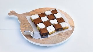 Peanut Butter Brownies And Macadamia Blondies – Savory