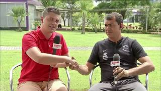Fábio Carille dá entrevista ao ESPN Bom Dia e fala sobre as expectativas do Corinthians para 2019