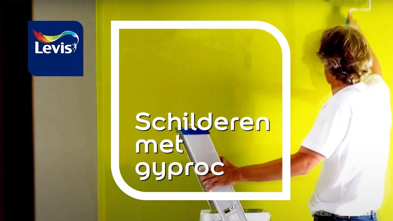 Bedwelming Hoe gyproc schilderen ? - Levis - YouTube VL41