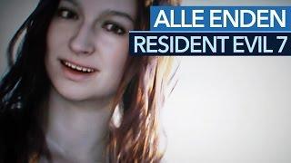 Resident Evil 7 - Alle Enden im Video (Vorsicht Spoiler!)