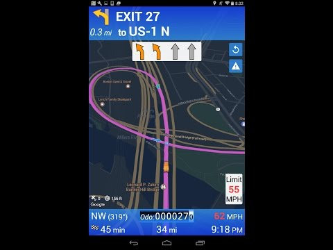 Truck GPS Navivation App for Android and iPhone
