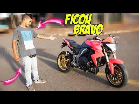 Download Youtube: PINTEI A CB 1000 INTEIRA DE COR DE ROSA 😲
