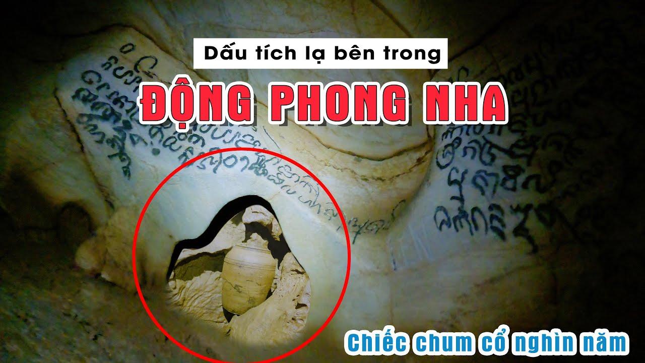 Phát hiện những dấu tích lạ của người Chăm Pa trong động Phong Nha - Quang Binh Travel