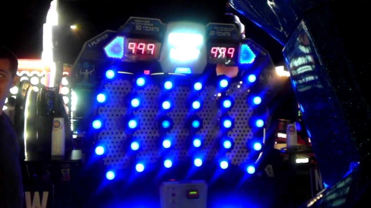 999 Speed Of Light Run Dave Buster S Okc Youtube