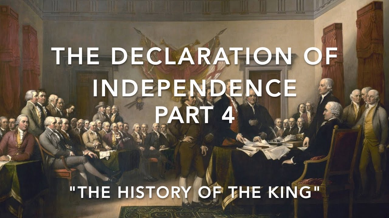 fuck no Declaration independence of king
