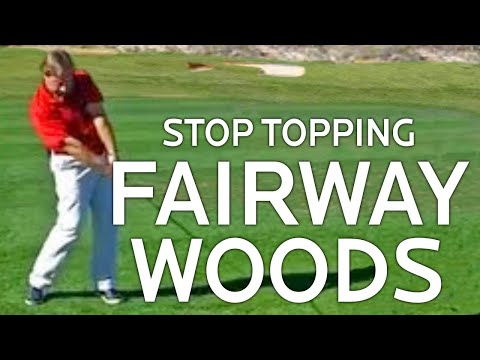 Golf Lessons - Stop Topping Fairway Woods
