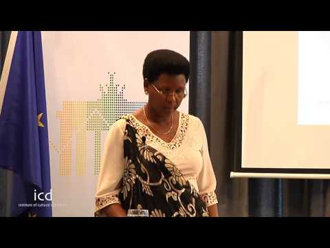 Minister Victoire Ndikumana, Minister of Commerce, Industry and Tourism of Burundi