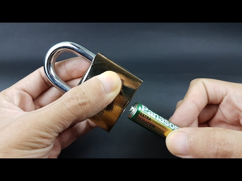 How to open a padlock easy | LabsJack