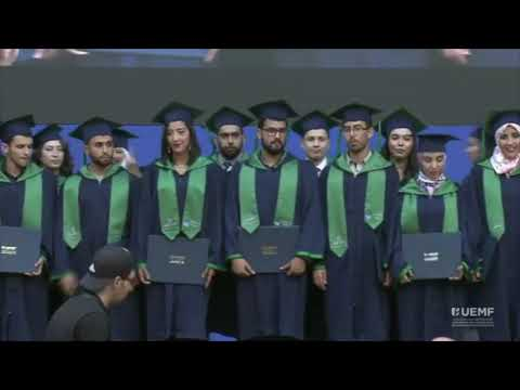 Graduation Of The First Three Master Classes In The Euro-Mediterranean University Of Fez, Morocco