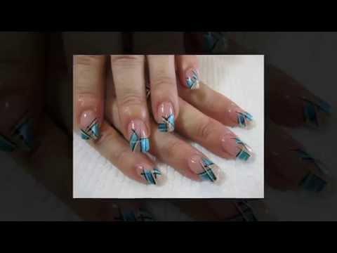 дизайн акриловыми красками на ногтях фото акриловых красок