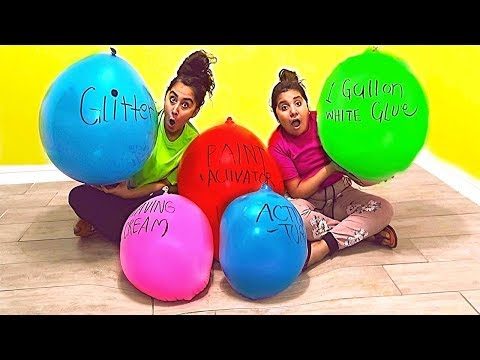 Download Youtube: Making Slime With EXTREMELY GIANT Balloons! Giant Slime Balloon Tutorial