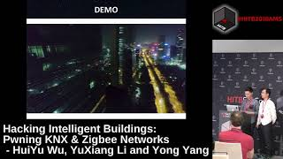 #HITB2018AMS D1T2 - Pwning KNX & ZigBee Networks - HuiYu Wu, YuXiang Li & Yong Yang