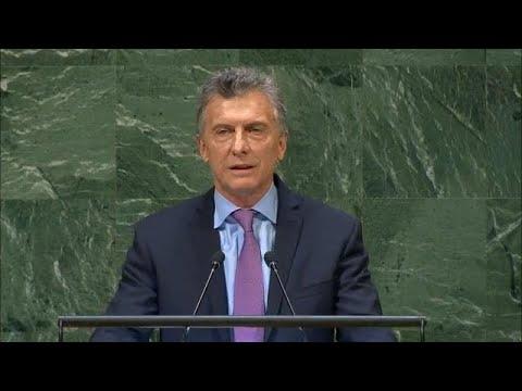 🇦🇷 Argentina - President Addresses General Debate, 73rd Session