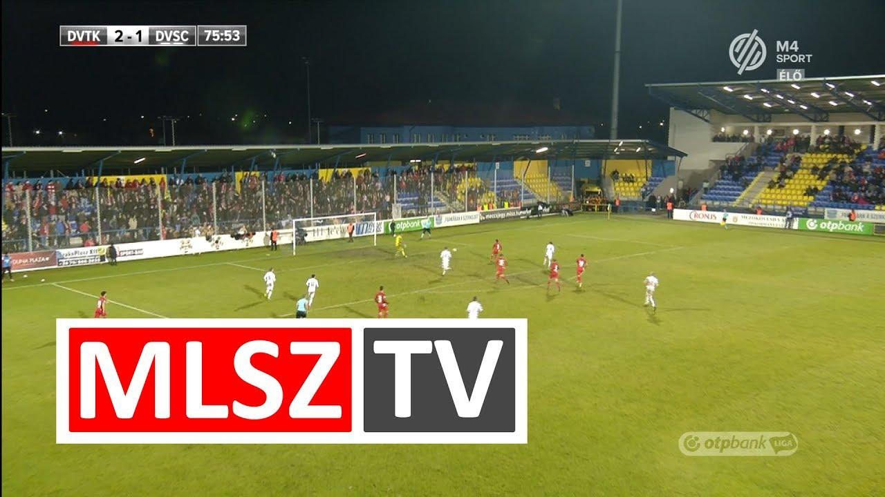 Busai Attila gólja a DVTK - DVSC mérkőzésen
