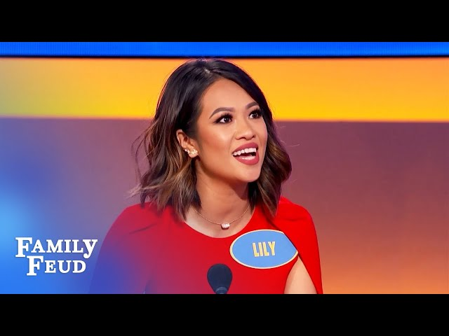 Do this when the family reunion turns into a feud... | Family Feud