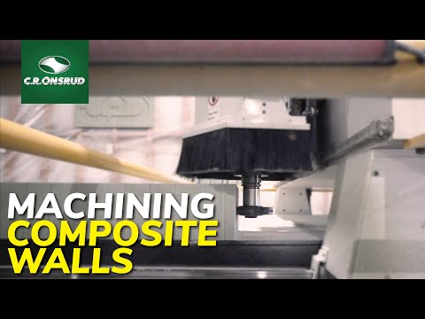 CNC Machining 100% recycled modular building panels - With JD Composites