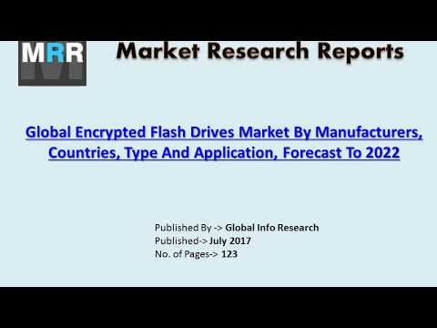 Encrypted Flash Drives Market 2017 by Key Players, Industry Trend, Size, growth and Forecasts 2022