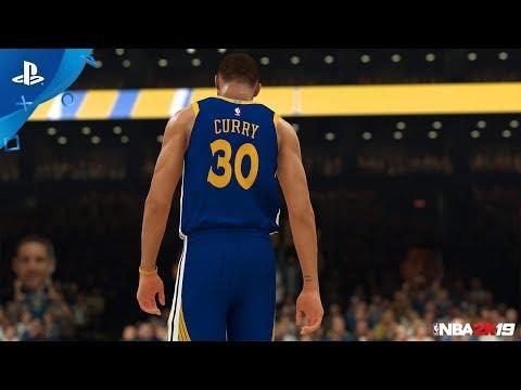 NBA 2K19: MyTEAM - Steph Curry 20th Anniversary Packs   PS4
