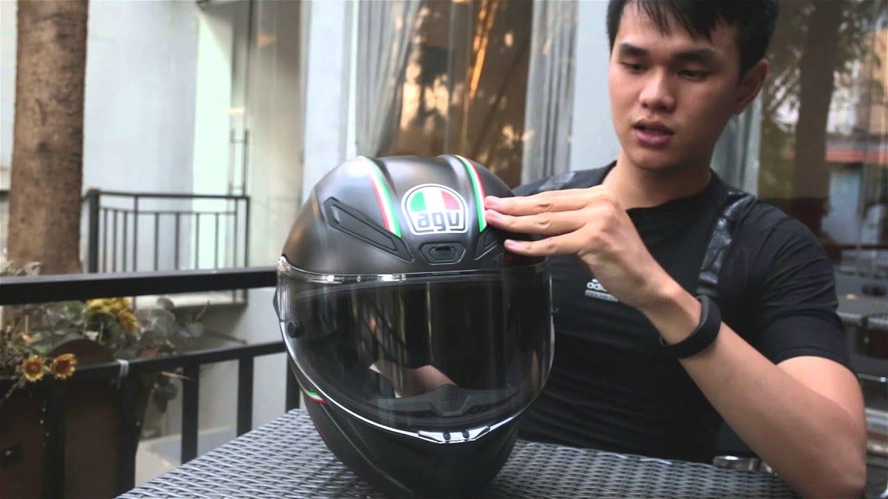 Xe.Tinhte.vn - Trên tay nón bảo hiểm AGV Pista GP vật liệu carbon, giá 1.400$
