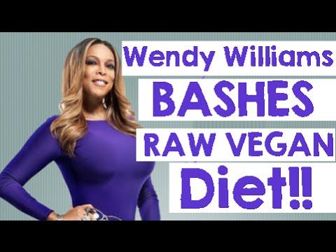 Wendy Williams calls Vegans Gaunt and Sallow! :(
