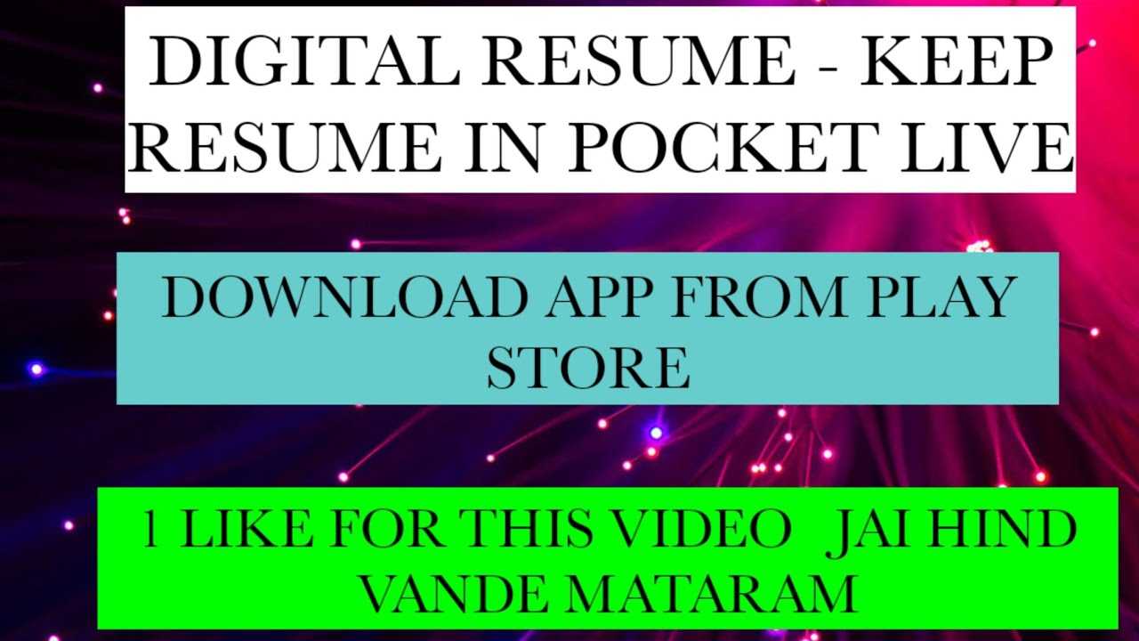 mobile me resume kaise banaye how to make resume in mobile