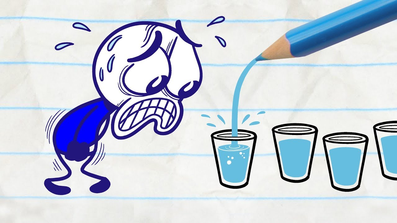 Download Pencilmate Gets All Wet -in- WATER ELSE? Pencilmation Compilation