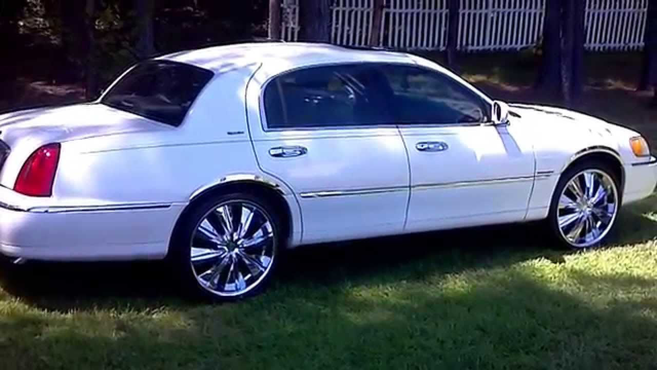 1998 lincoln town car on 22 s [ 1280 x 720 Pixel ]