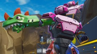 "NEW EPIC SKIN OF THE ""MECH TEAM LEADER"" EVENT! NEW GESTURE ""TURBINATE HOOK""! Fortnite"